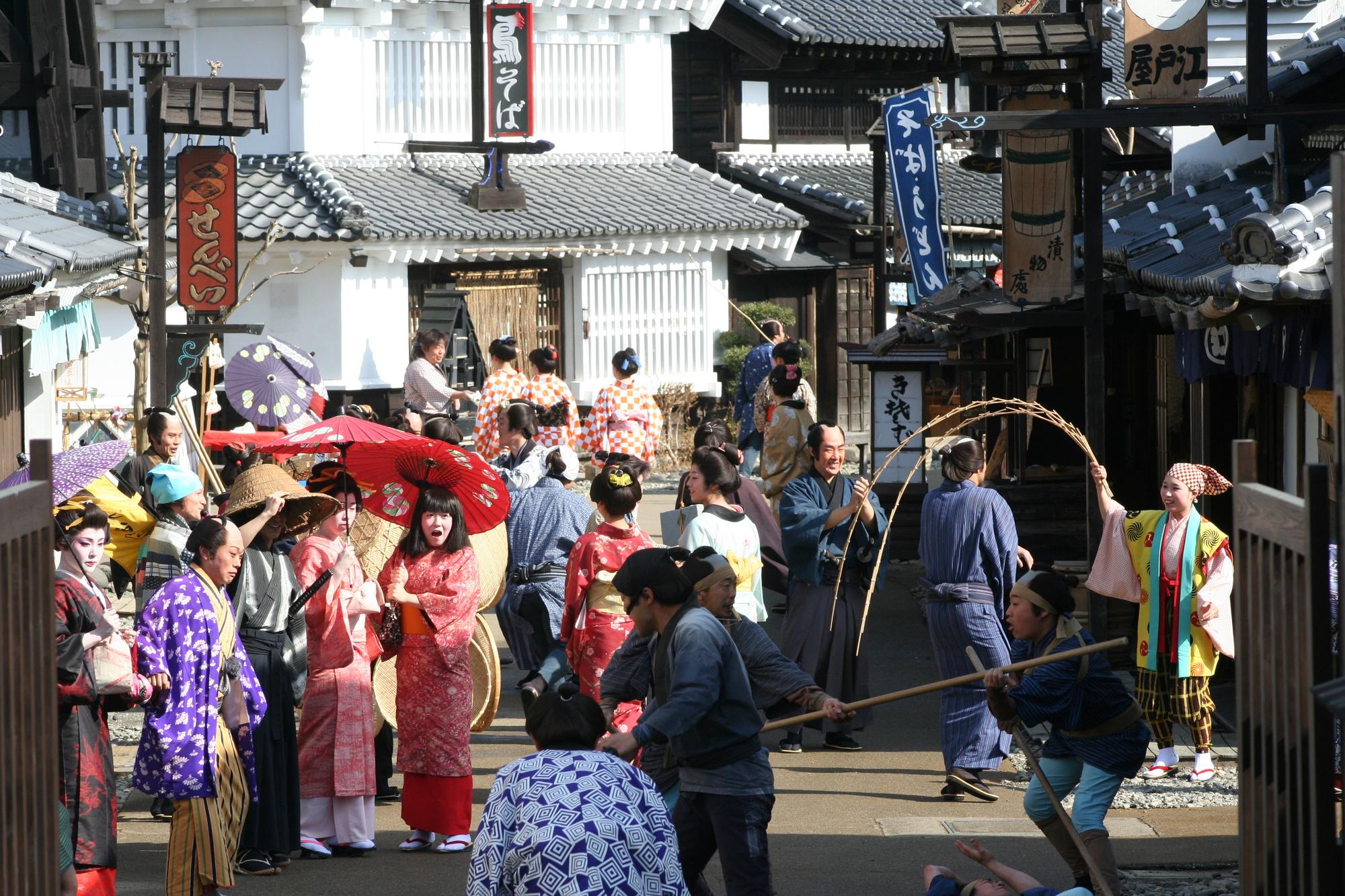 「日光江戸村」の画像検索結果